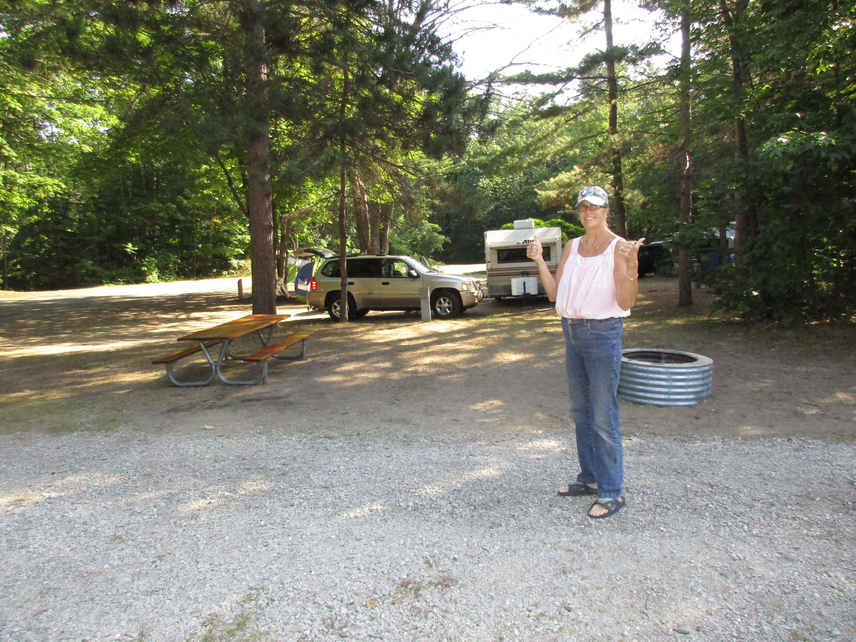 Day 57, July 26 - Petoskey State Park to Eastport, Barnes ...