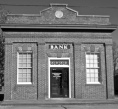 Little old bank in Winterville.